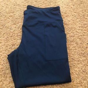 Exclusive of trim leggings 1x